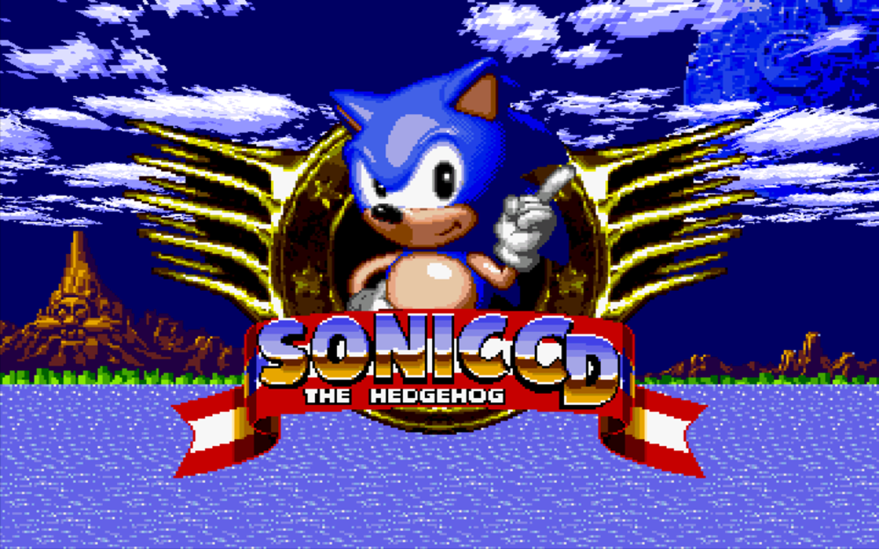 Sonic CD™ - screenshot