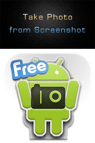 Take Photo from Screenshot