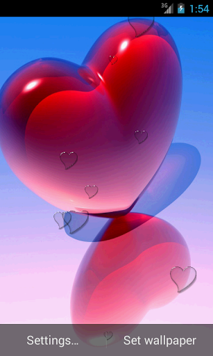 玩娛樂App|Heart HD Live Wallpaper免費|APP試玩
