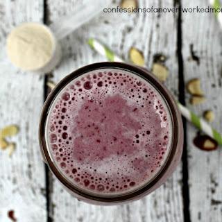Strawberry Protein Energy Smoothie | High Protein EnergyShake.
