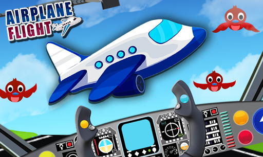 Airplane Flight - Kids 2D Game