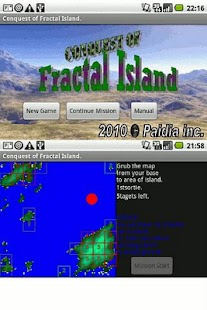 Conquest of Fractal Island- screenshot thumbnail
