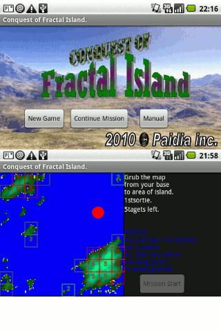 Conquest of Fractal Island- screenshot