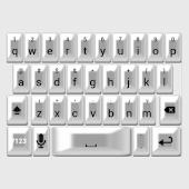 White Pearl Keyboard Skin