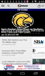 WDAM Local News - screenshot thumbnail