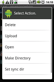 WebDavDroid Lite (Free)- screenshot thumbnail
