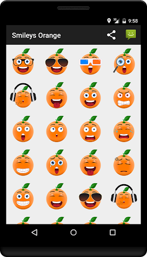 Smileys Orange