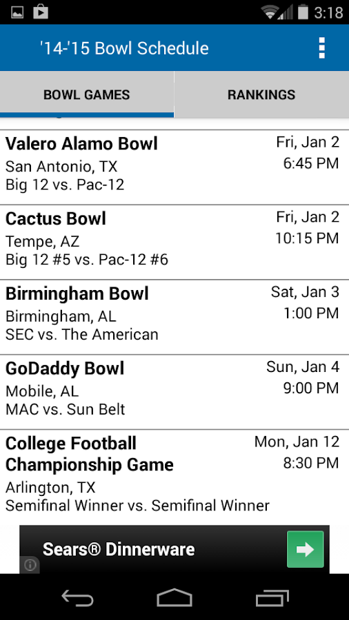 football schedule college college football playing today
