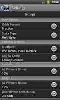 Screenshot of Sports Bet Calculator (free)