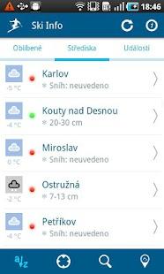 Ski Info CZ/SK- screenshot thumbnail