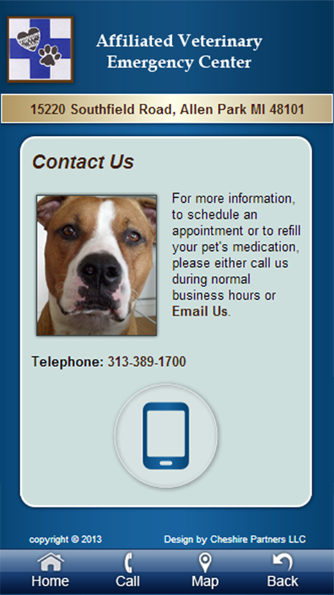 Affiliated Veterinary ER- screenshot
