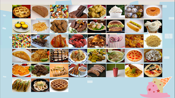 Screenshot of ABC Food Flashcard  Read Write