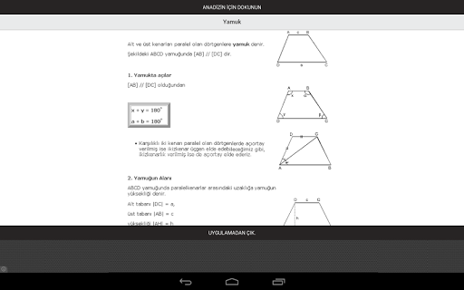玩免費教育APP 下載Geometri Konu Anlatımları app不用錢 硬是要APP