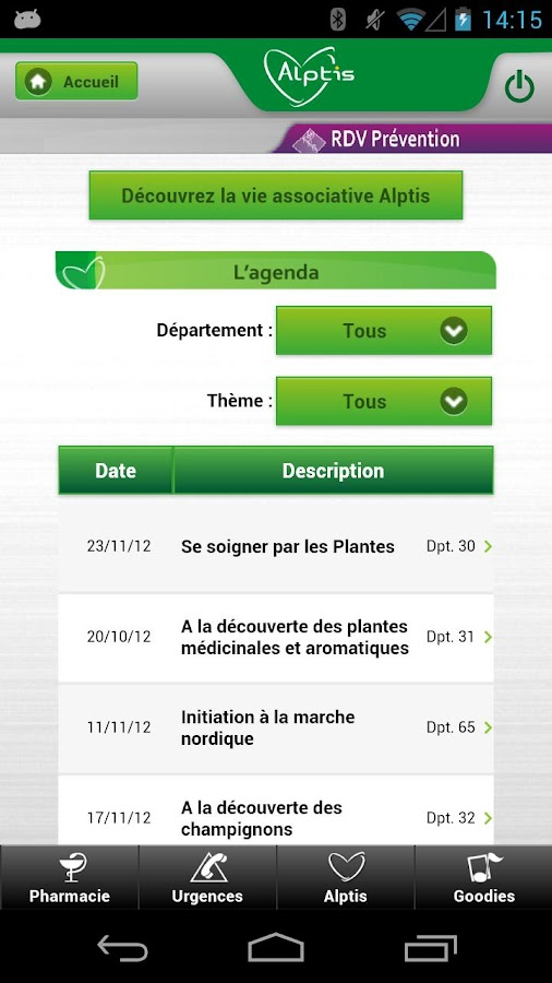 Mon Alptis Mobile - screenshot