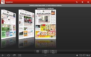 Screenshot of Karjalainen