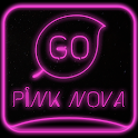 Pink Nova Go Keyboard icon
