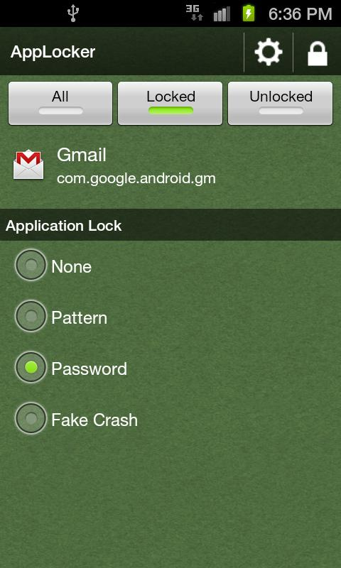 AppLocker - Secure Your Apps - screenshot