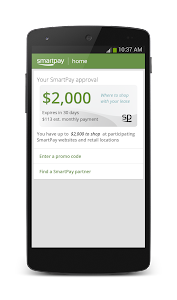 SmartPay Everyday Leasing screenshot 2