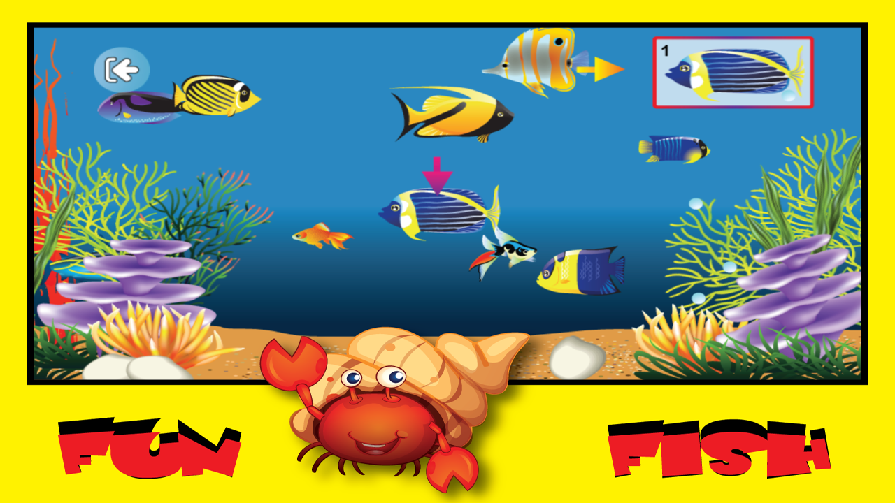 Tap fish game for kids free android apps on google play for Tap tap fish game