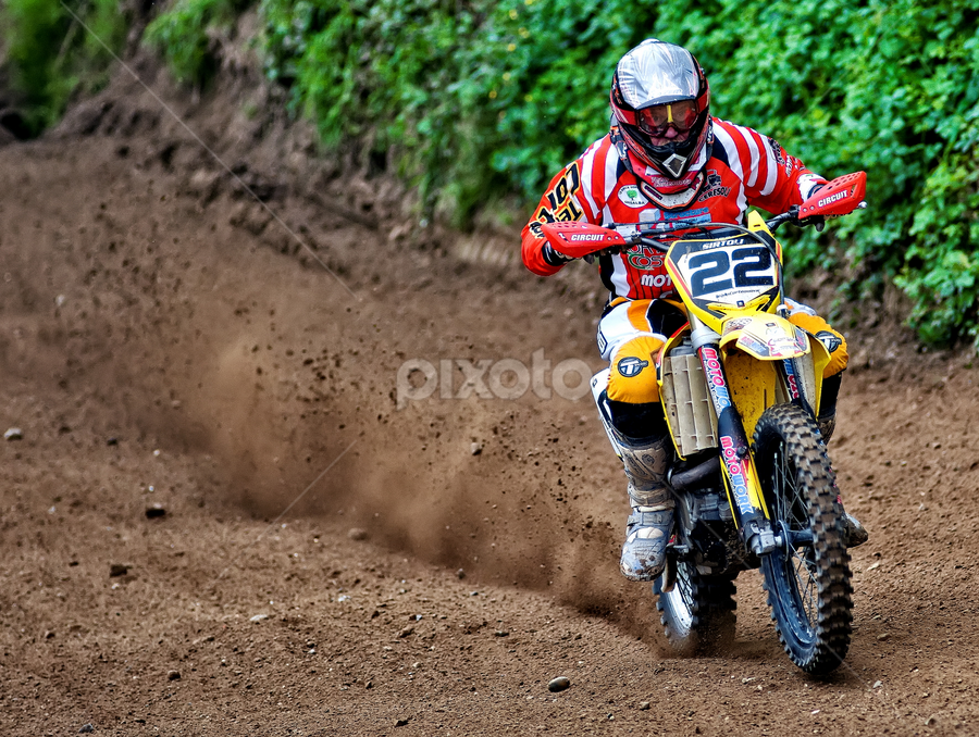 Motocross by Luca Renoldi - Sports & Fitness Motorsports ( rider, mud, motocross, speed, dust )