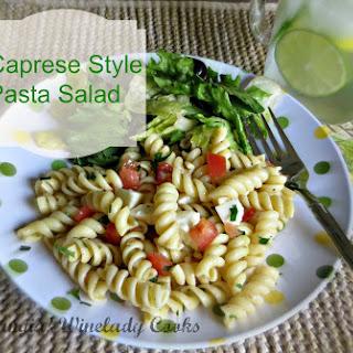 Caprese Style Pasta Salad - Hold The Mayo
