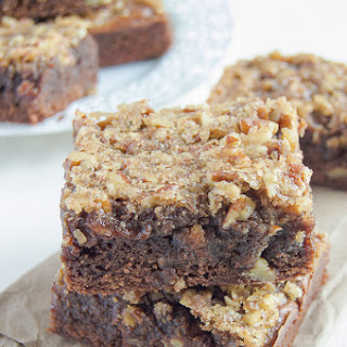Candied Pecan Brownies