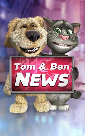 android Talking Tom & Ben News Screenshot 5