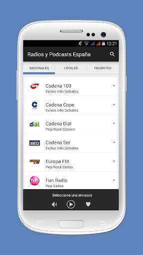 Radios y Podcasts España