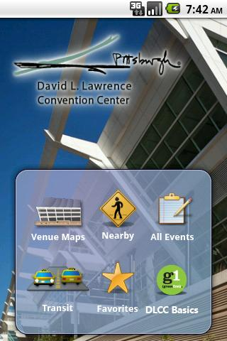Pittsburgh Convention Center- screenshot