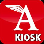 Modell AVIATOR-Kiosk