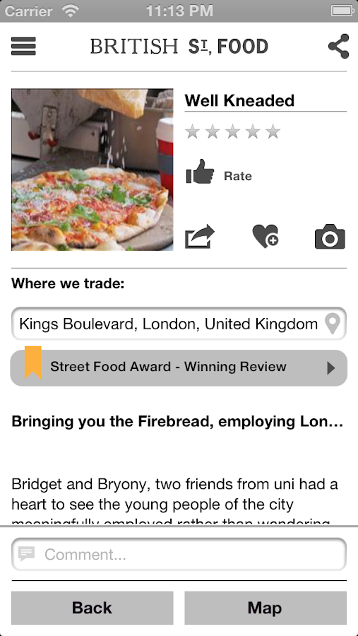 BritishSt.Food- screenshot