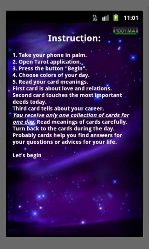 Tarot Reading- screenshot