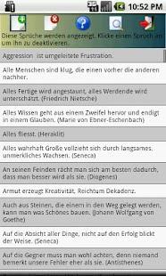 SpruchKlopfer - Zitate+Sprüche- screenshot thumbnail