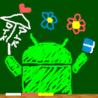 Drawing blackboard icon