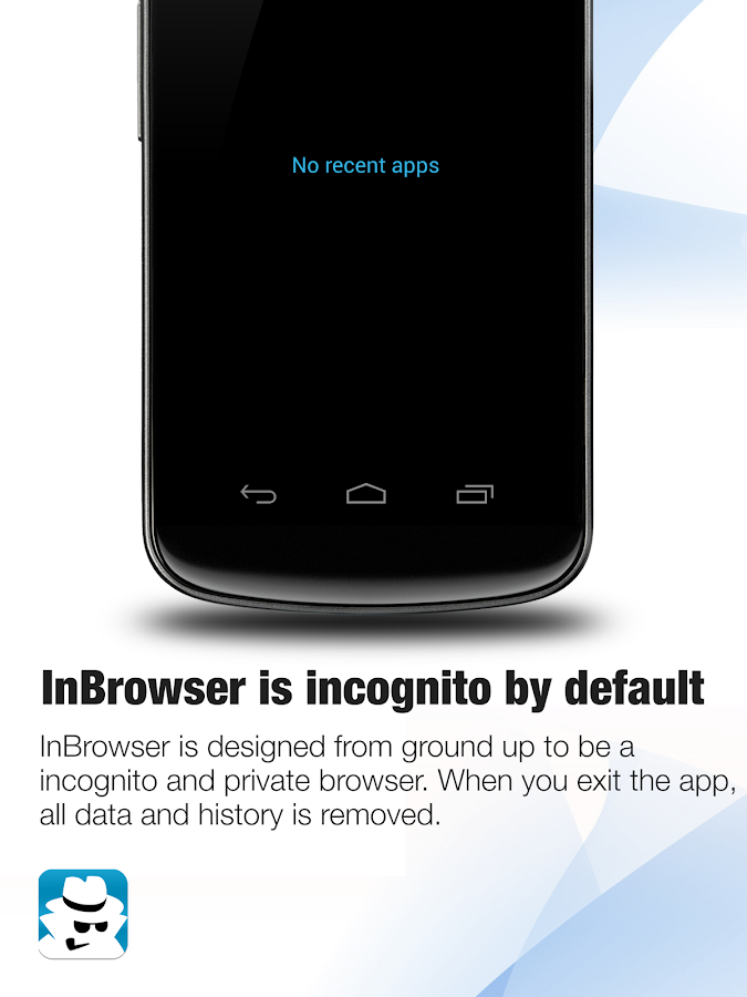 InBrowser - Incognito Browsing- screenshot