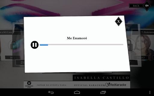 【免費音樂App】Isabella Castillo Karaoke-APP點子