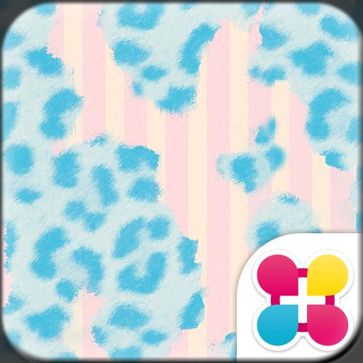 Cute Theme-Blue Leopard- Icon