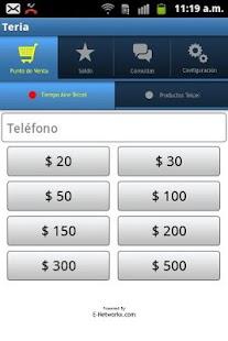 Teria Tiempo Aire Telcel - screenshot thumbnail