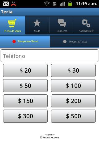 Teria Tiempo Aire Telcel- screenshot
