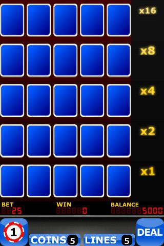Upgrade Video Poker - screenshot