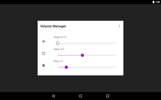 玩音樂App Volume Manager - 音量調整アプリ免費 APP試玩