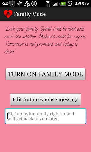 Family Mode