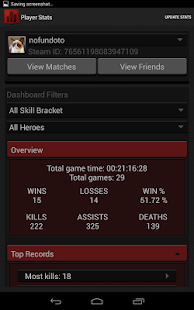 Statistics for Dota 2- screenshot thumbnail