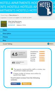 Cheap hotels & hostel deals - screenshot thumbnail