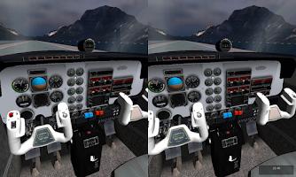 Screenshot of VR Flight Simulator