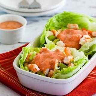 Shrimp Cocktail Lettuce Cups.