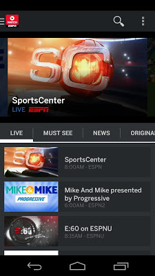 WatchESPN - screenshot