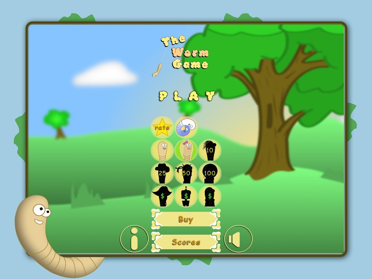 The Worm Game- screenshot