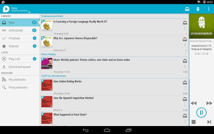 uPod Podcast Player Screenshot 18