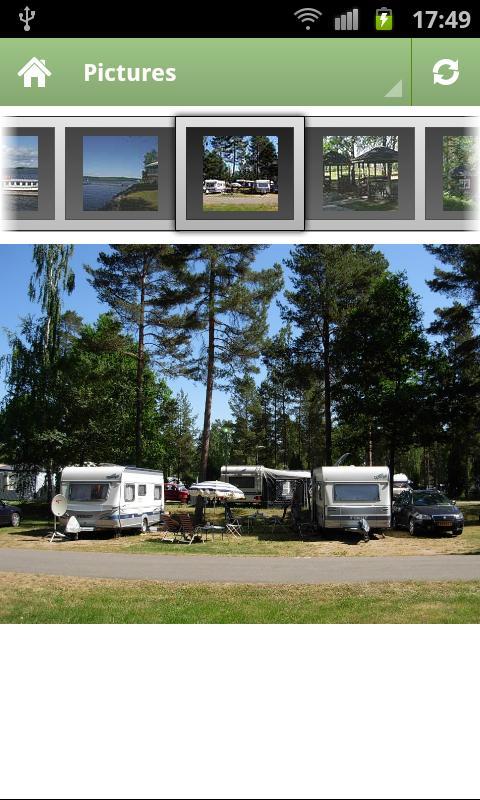 Hätte Camping, Tranås, Sverige- screenshot